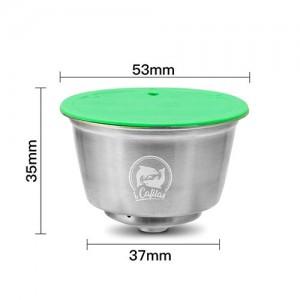 Set capsule ricaricabili compatibili Nescafé Dolce Gusto (acciao) + Kit assaggio