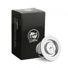 Set capsule ricaricabili compatibili Nespresso (acciaio)