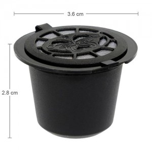 Set capsule ricaricabili compatibili Nespresso