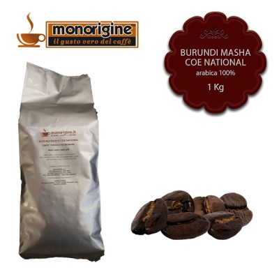 Caffè Arabica in grani Burundi Masha CoE National - 1 Kg