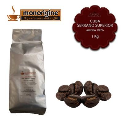 Caffè Arabica in grani Cuba Serrano Superior - 1 Kg