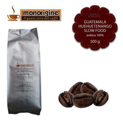 Caffè Arabica in grani Guatemala Huehuetenango Slow Food - 500 gr