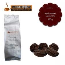 Caffè Arabica in grani Peru Tunki - 250 gr