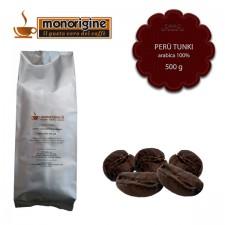 Caffè Arabica in grani Peru Tunki - 500 gr