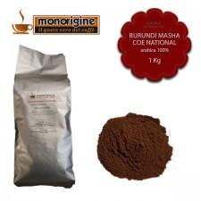 Caffè Arabica macinato per moka Burundi Masha CoE National - 1 Kg