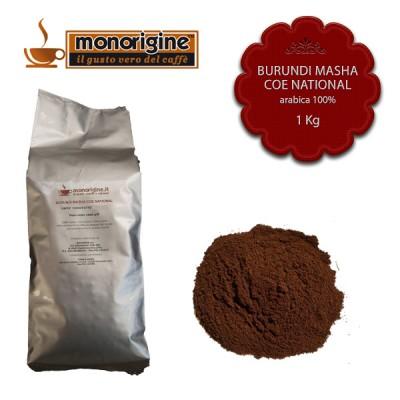 Caffè Arabica macinato per espresso - Burundi Masha CoE National - 1 Kg