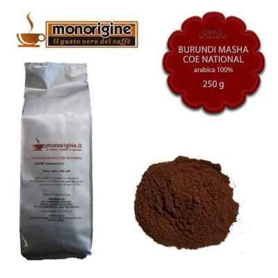 Caffè Arabica macinato per espresso - Burundi Masha CoE National - 250 gr