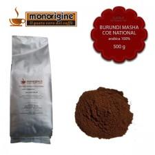Caffè Arabica macinato per moka Burundi Masha CoE National - 500 gr