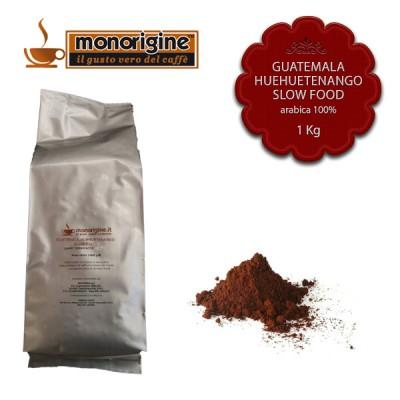 Caffè Arabica macinato per espresso  - Guatemala Huehuetenango Slow Food - 1 Kg