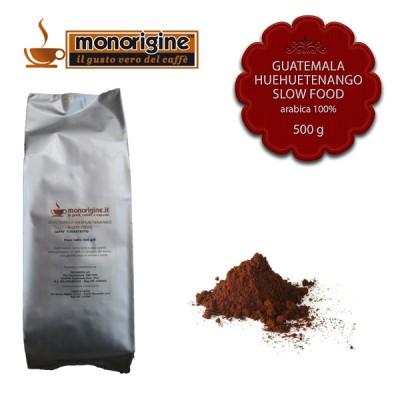 Caffè Arabica macinato per espresso - Guatemala Huehuetenango Slow Food - 500 gr