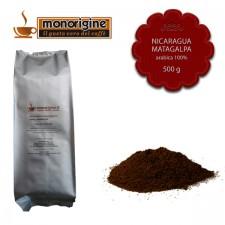 Caffè Arabica macinato per moka Nicaragua Matagalpa El Baron - 500 gr