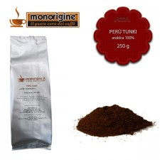 Caffè Arabica macinato per moka Peru Tunki - 250 gr