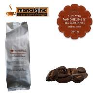 Caffè Arabica Biologico in grani Sumatra Mandheling G1 BIO (Organic) - 250 gr