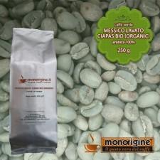 Caffè Verde Arabica Biologico in grani Messico Lavato Ciapas BIO (Organic) - 250 gr