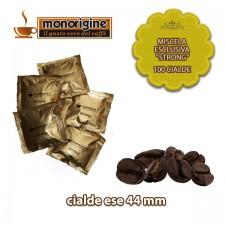 "Caffè in 100 cialde Miscela esclusiva ""Strong"""
