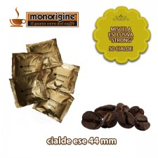 "Caffè in 50 cialde Miscela esclusiva ""Strong"""