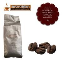 Caffè Arabica in grani Costarica Don Roberto Terrazu - 1 Kg