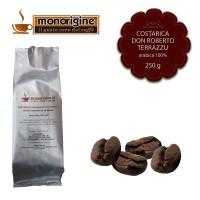 Caffè Arabica in grani Costarica Don Roberto Terrazu - 250 gr