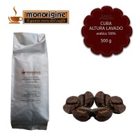 Caffè Arabica in grani Cuba Altura Lavado - 500 gr
