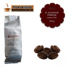 Caffè Arabica in grani El Salvador Primium - 250 gr