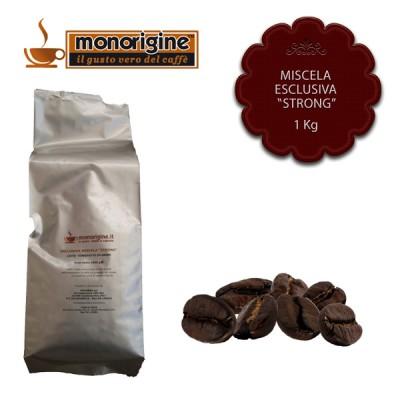"Caffè in grani Miscela Esclusiva ""Strong"" - 1 Kg"