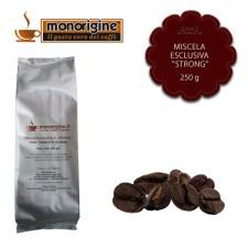 "Caffè in grani Miscela esclusiva ""Strong"" - 250 gr"