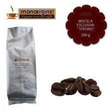 "Caffè in grani Miscela esclusiva ""Strong"" - 500 gr"