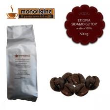 Caffè Arabica in grani Etiopia Sidamo G2 Top - 500 gr