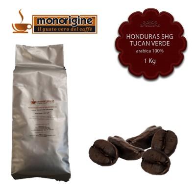 Caffè Arabica in grani Honduras SHG Tucan Verde - 1 Kg