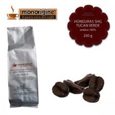 Caffè Arabica in grani Honduras SHG Tucan Verde - 250 gr