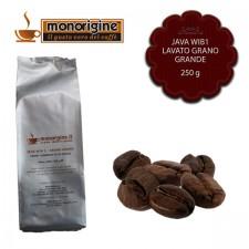 Caffè in grani Java WIB 1 Lavato Grano Grande - 250 gr
