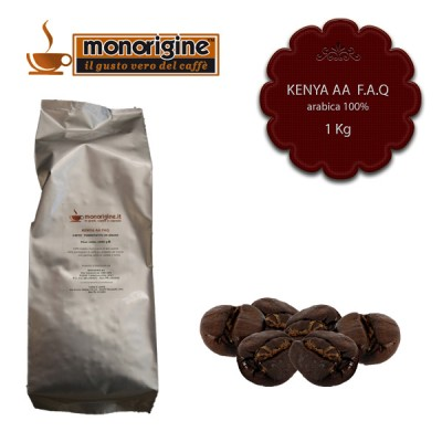 Caffè Arabica in grani Kenya AA TOP - 1 Kg