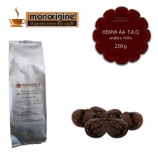 Caffè Arabica in grani Kenya AA TOP - 250 gr