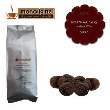 Caffè Arabica in grani Kenya AA TOP - 500 gr