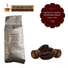 Caffè Arabica in grani Messico Lavato Montana Maya - 1 Kg