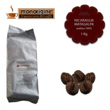 Caffè Arabica in grani Nicaragua Matagalpa El Baron - 1 Kg