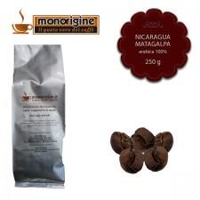 Caffè Arabica in grani Nicaragua Matagalpa El Baron - 250 gr