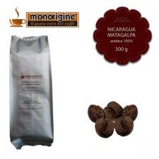 Caffè Arabica in grani Nicaragua Matagalpa El Baron - 500 gr