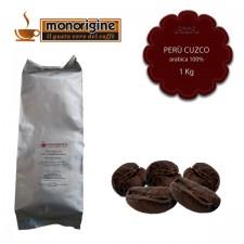 Caffè Arabica in grani Perù Cuzco - 1 Kg
