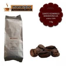 Caffè Arabica in grani San Domingo Barahona AA - 1 Kg