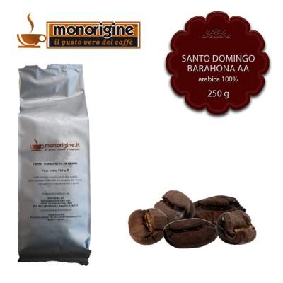 Caffè Arabica in grani Santo Domingo Barahona AA - 250 gr