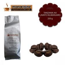 Caffè Arabica in grani Tanzania AA Lavato Kilimanjaro - 250 gr