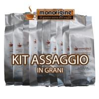 Kit assaggio 8 x 250 gr - caffè in grani