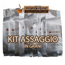 Kit assaggio 16 x 250 gr - caffè in grani