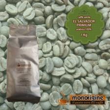 Caffè Verde Arabica in grani El Salvador Primium - 1 Kg