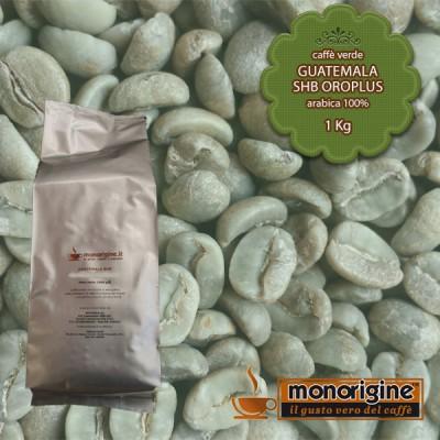 Caffè Verde Arabica in grani Guatemala SHB Oroplus - 1 Kg