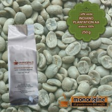 Caffè Verde Arabica in grani Indiano Plantation AA - 250 gr