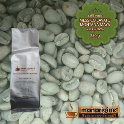 Caffè Verde Arabica in grani Messico Lavato Montana Maya - 250 gr
