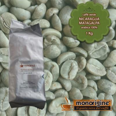 Caffè Verde Arabica in grani Nicaragua Matagalpa El Baron - 1 Kg