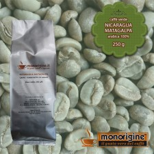 Caffè Verde Arabica in grani Nicaragua Matagalpa El Baron - 250 gr